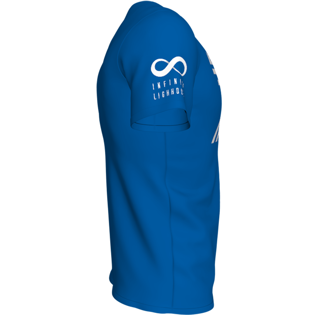 Plava lap76 majca sa strane