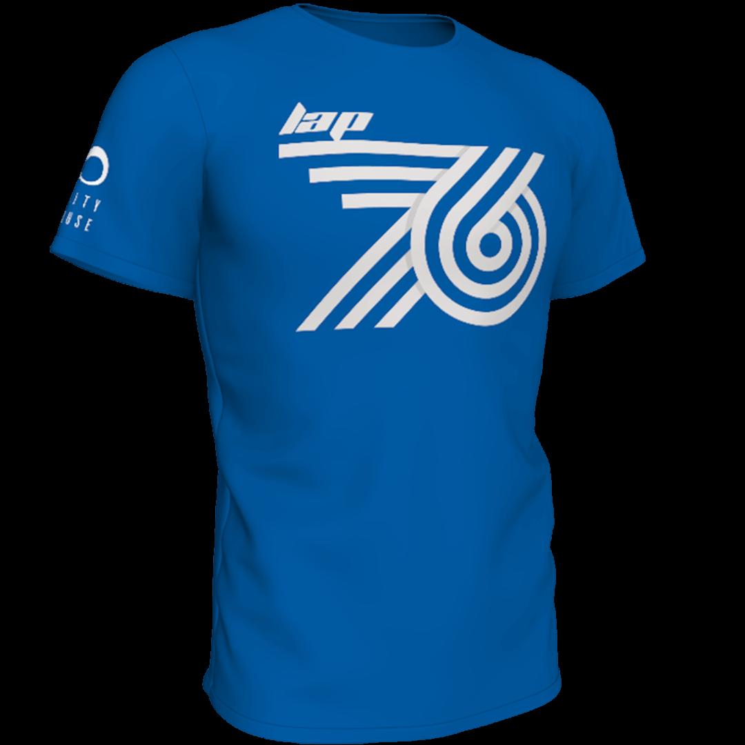 Plava lap76 majca frontalno