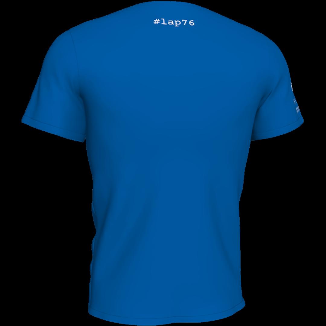 Plava lap76 majca sa ledja