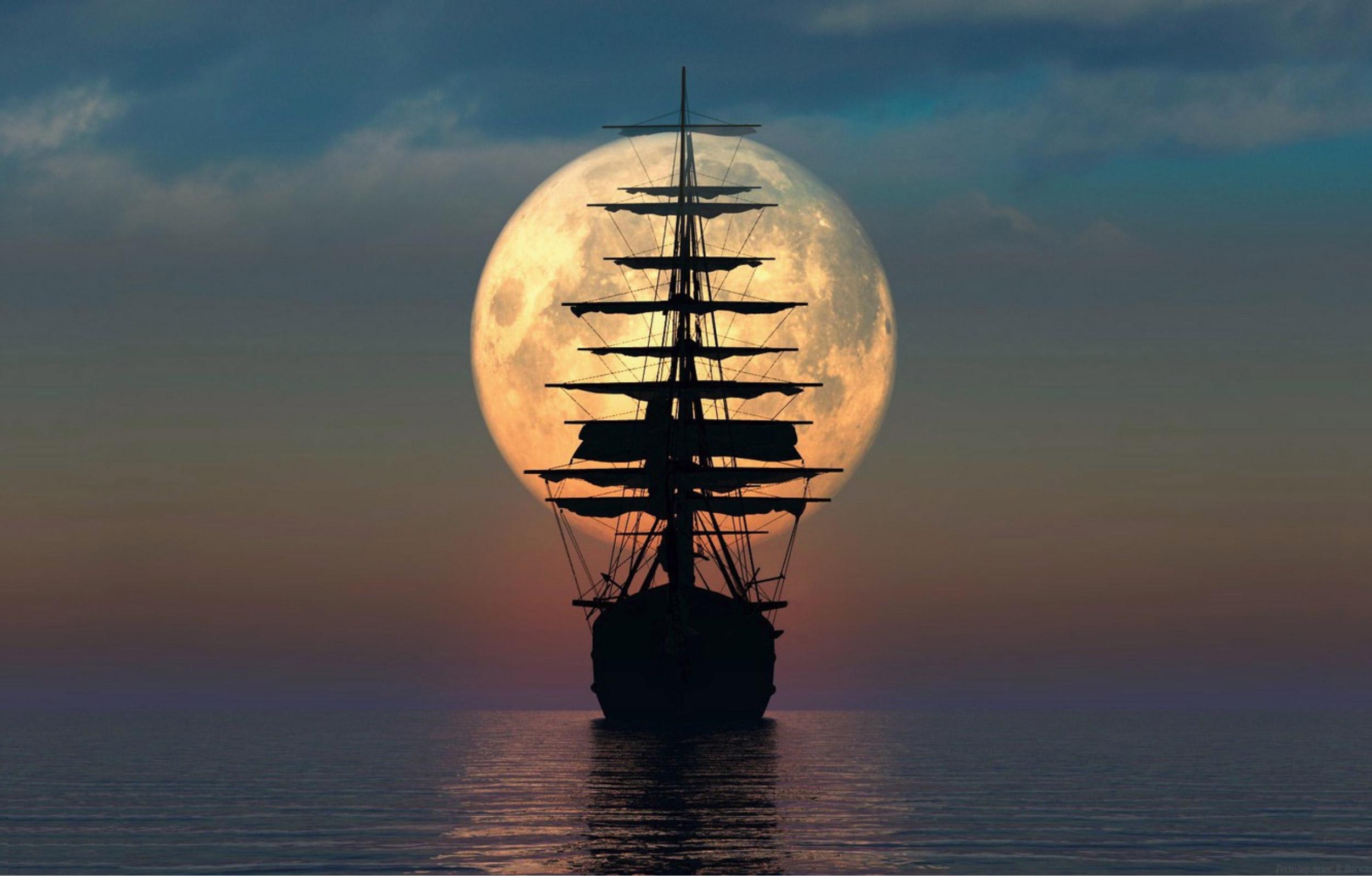 Velkommen til fullmåne-cruise