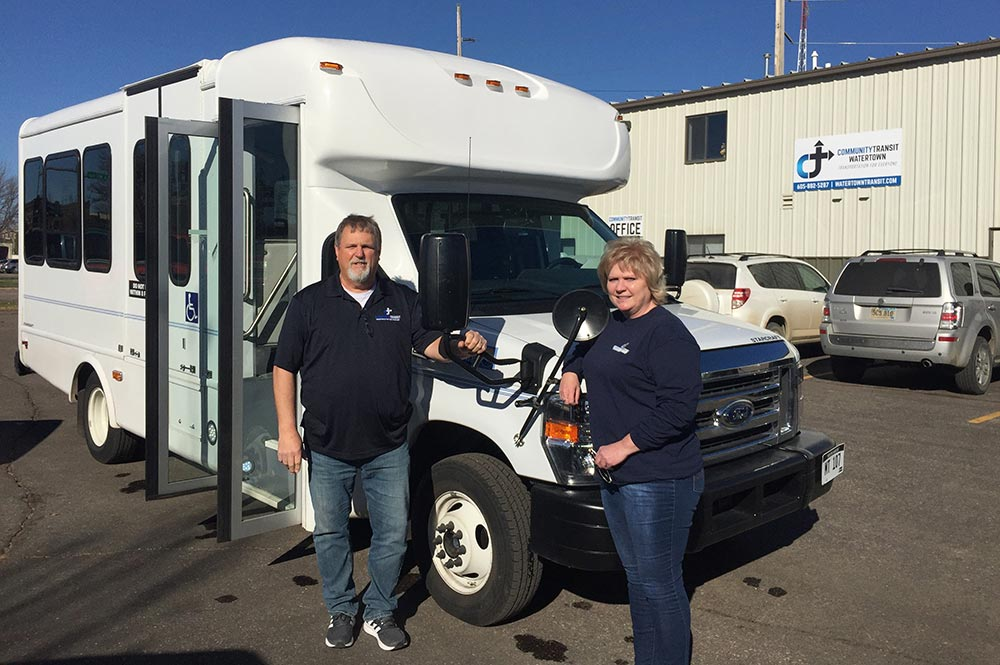 Transit Welcomes New Vehicle