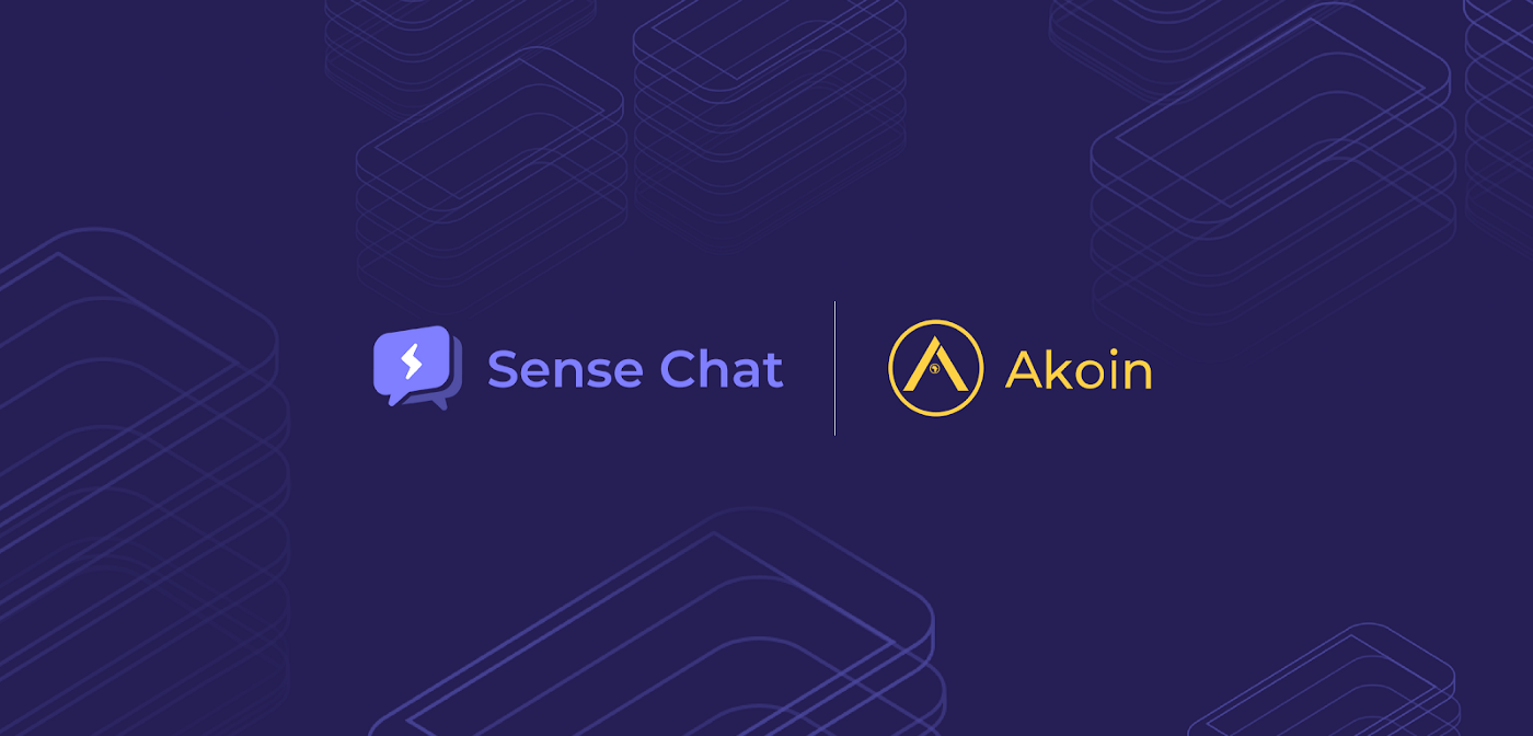 Akoin by Akon Partners With Sense Chat