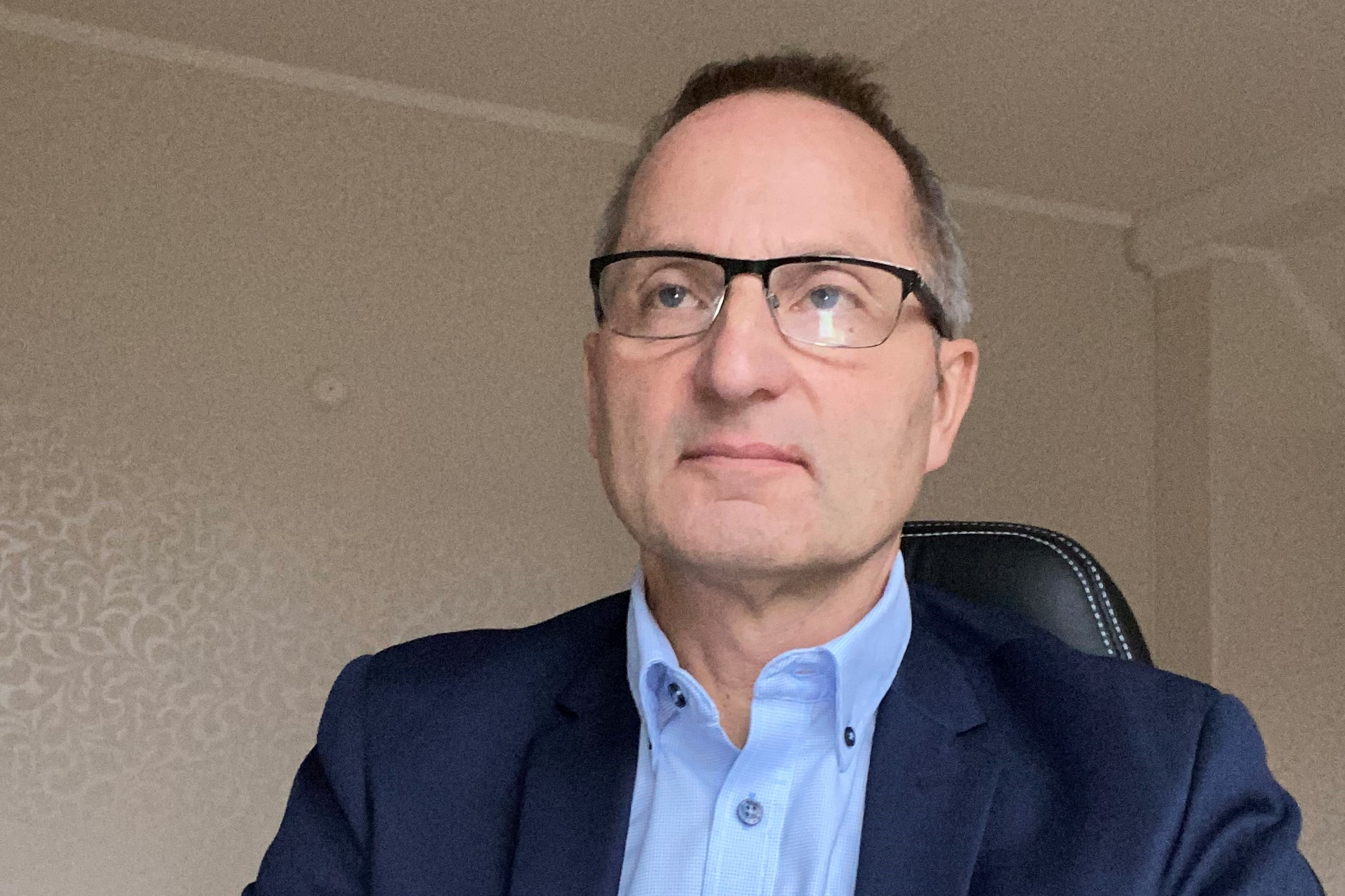 Skanskes prosjektleder Jan J. Johansson