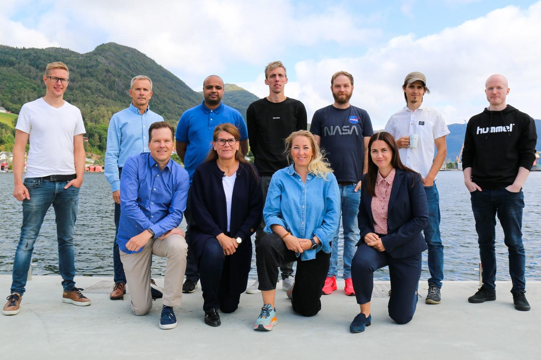 HMSREG-teamet samlet i Ølensvåg