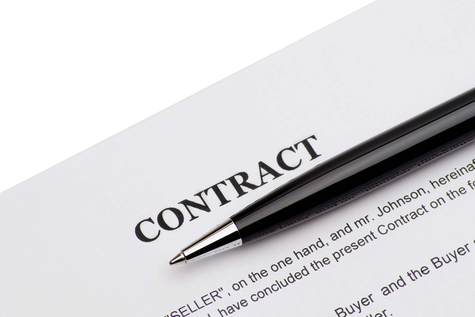Contract for Business Lawyer review