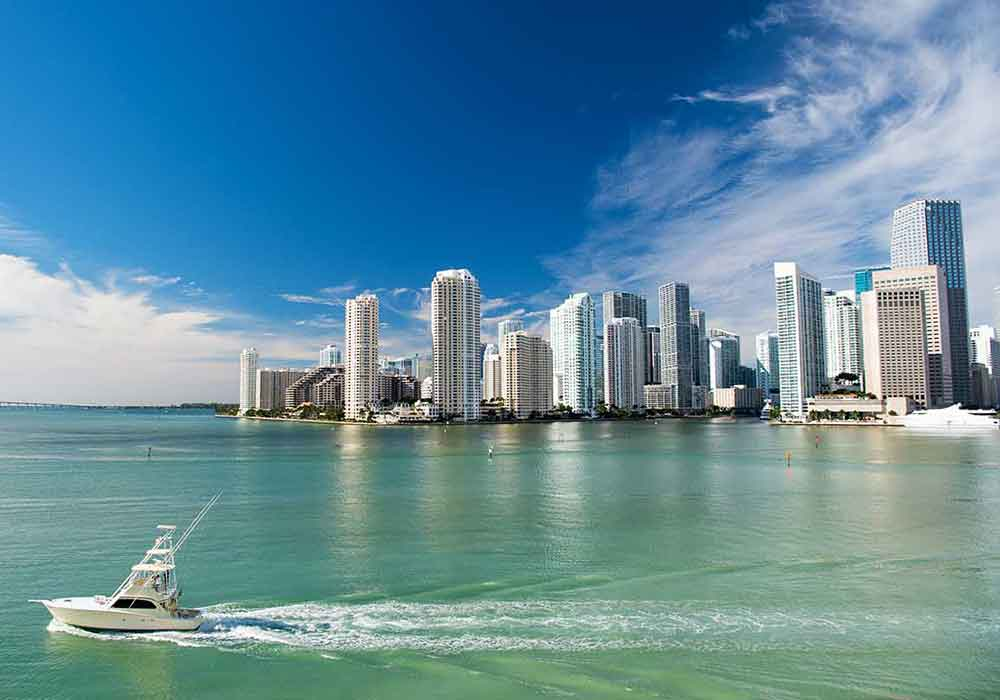 Water view of Miami, FL Frost Law Office