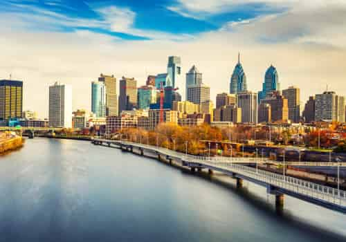 Philadelphia, Pennsylvania Tax Attorney Aerial of City