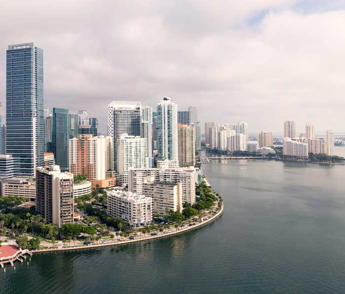 Buildings in Miami, Florida