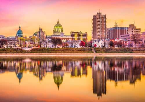 Harrisburg, Pennsylvania International Tax Attorneys, city skyline