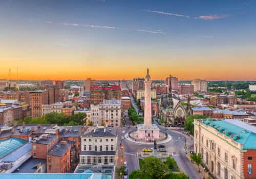 Tax Attorneys in Baltimore, Maryland, city landscape