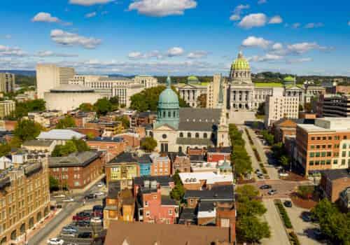 Baltimore, Maryland International Tax Attorneys, city landscape