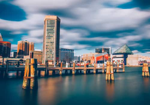 FBAR Reporting Assistance In Baltimore, Maryland, city landscape