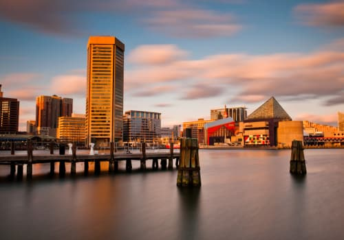 Navigate IRS Form 3520 In Baltimore, Maryland, inner harbor landscape