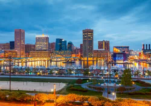 Expat Tax Matters In Baltimore, Maryland, inner harbor