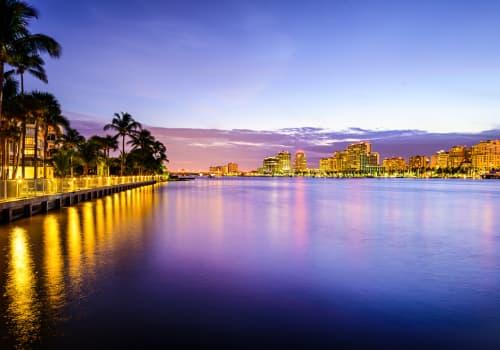 Navigate Your Expat Taxes In West Palm Beach, Florida, city landscape