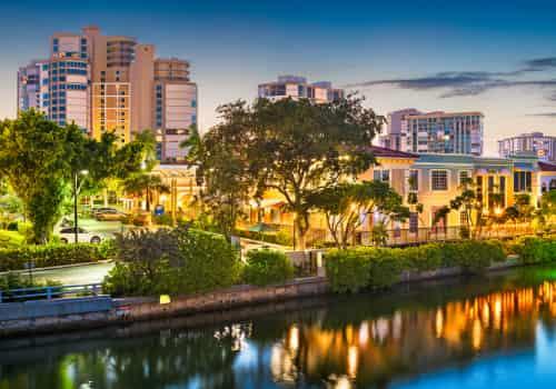 Expat Tax Assistance In Naples, Florida, city landscape