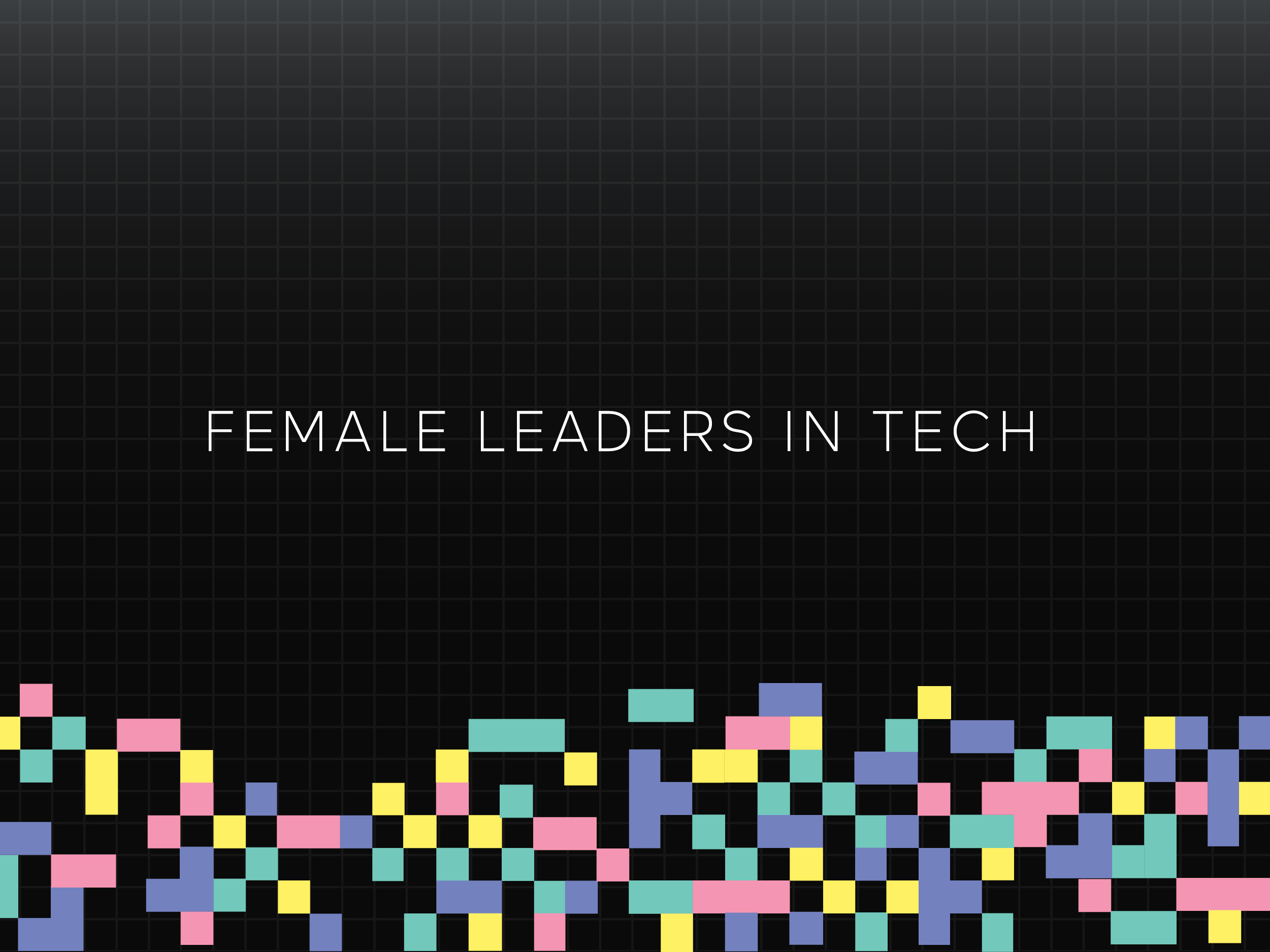 Female Leaders in Technology Panel