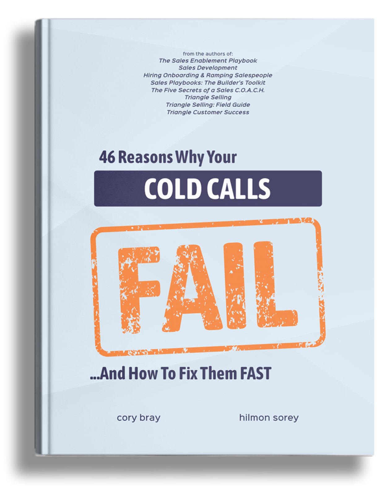 46 reasons why cold calls fail book cover