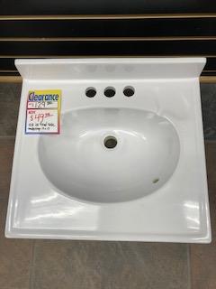 Culture Marble Bathroom Vanity Top 19 x 17
