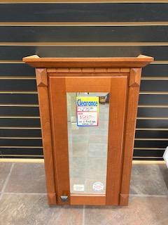 Medicine Cabinet Surface Mount Bevel Glass Mirror