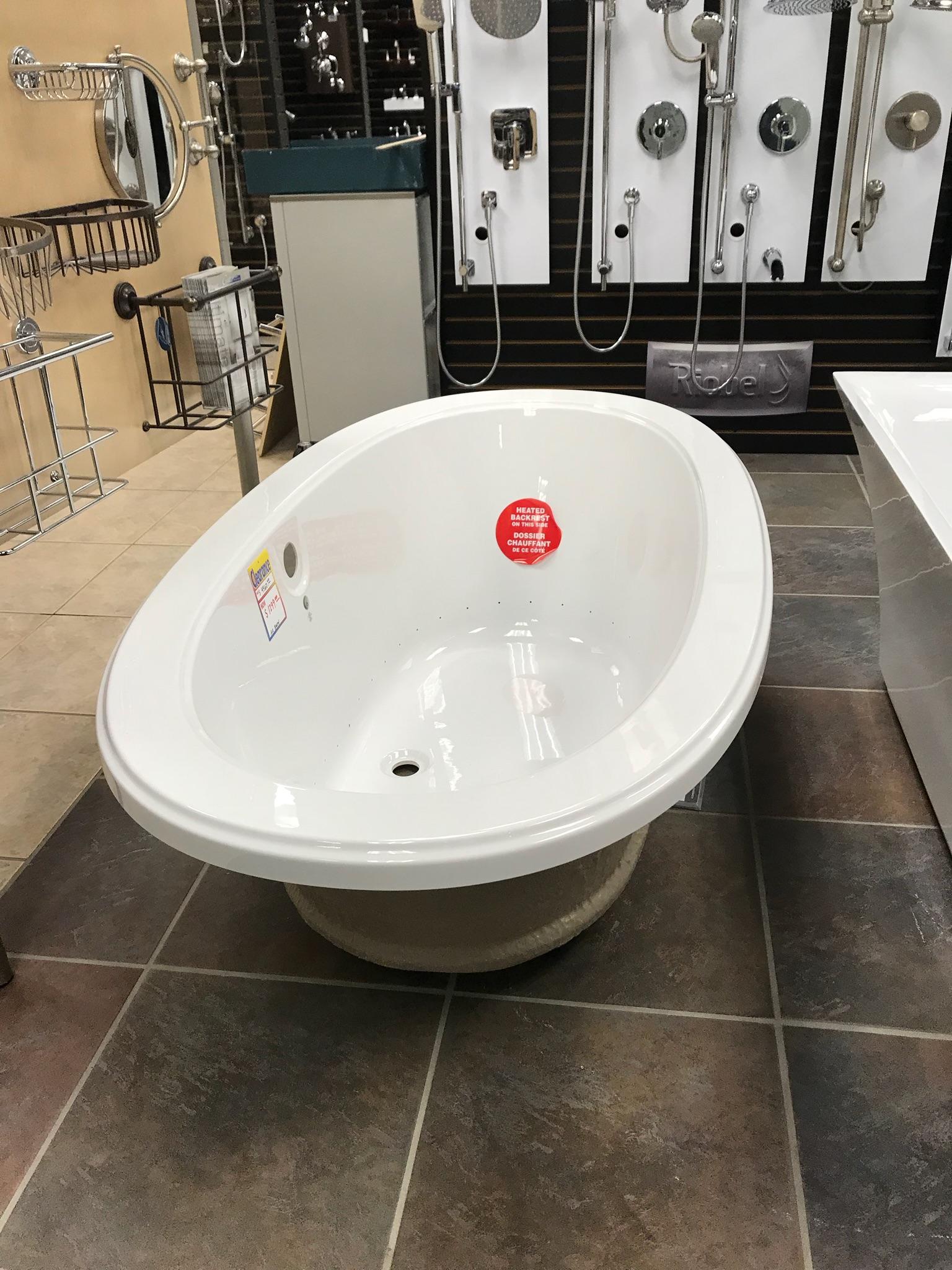 Bain Ultra air jetted tub