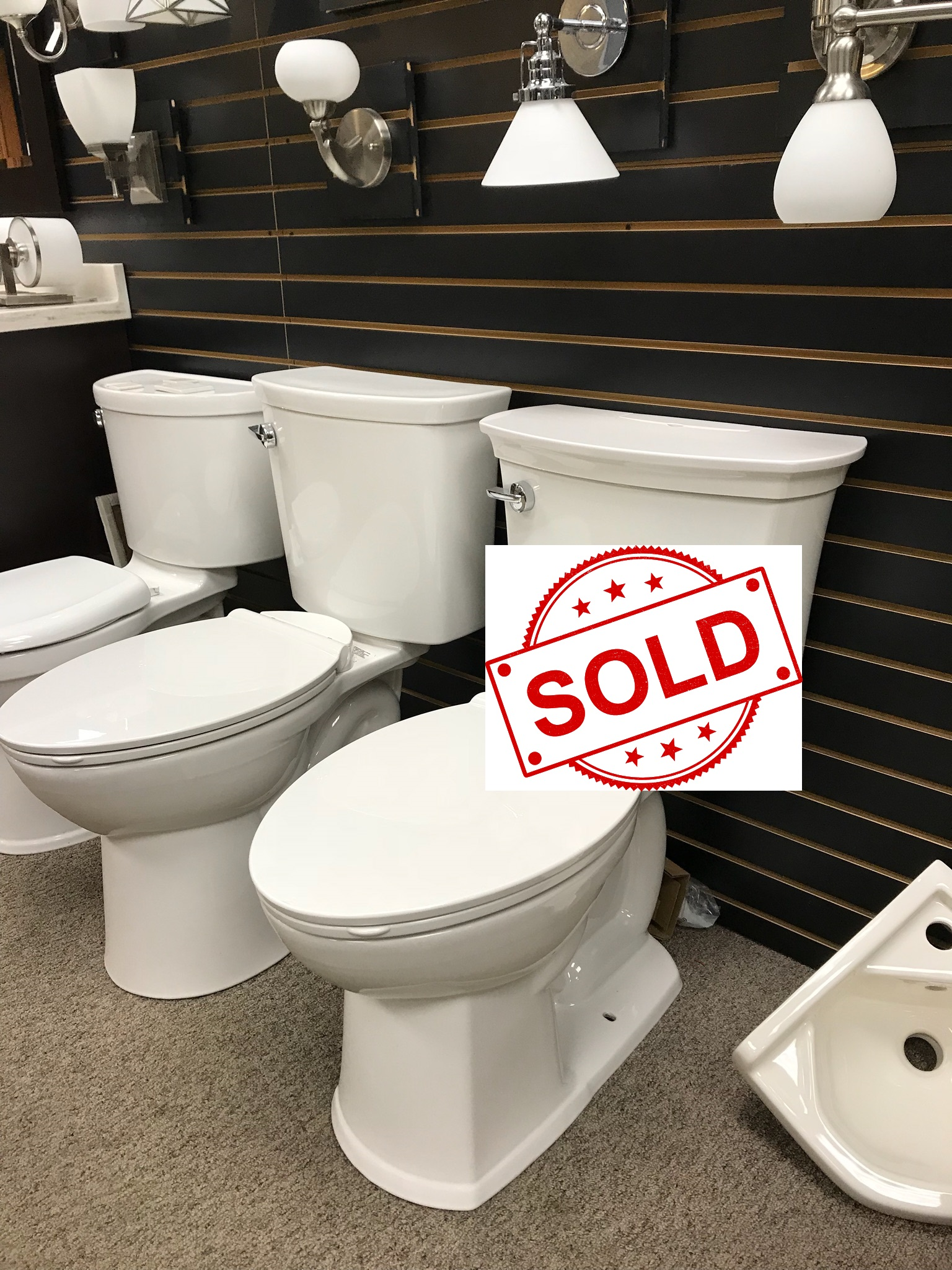 American Standard Acticlean toilet