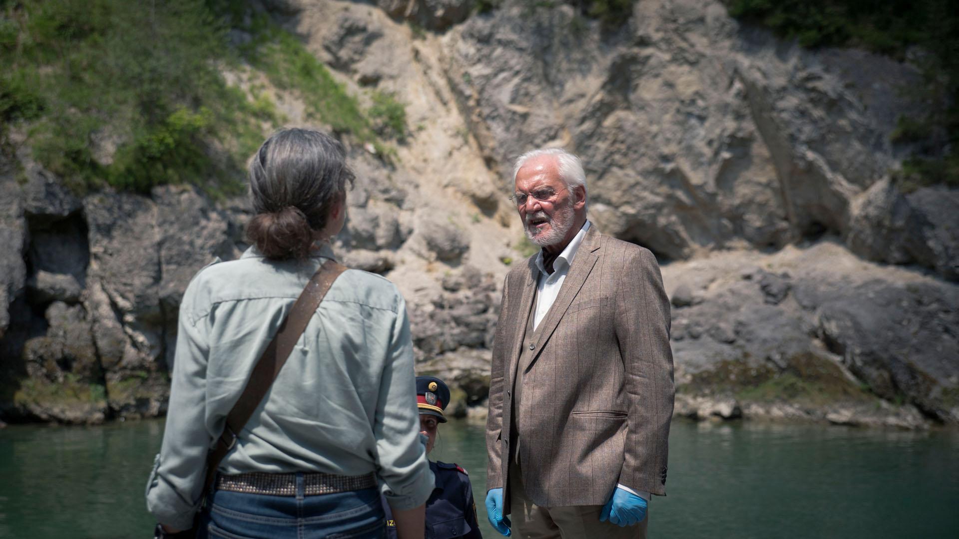 Der Tote im See: Filmpremiere