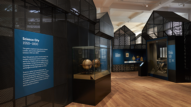 Science Museum: Science City 1550-1800 - The Linbury Gallery