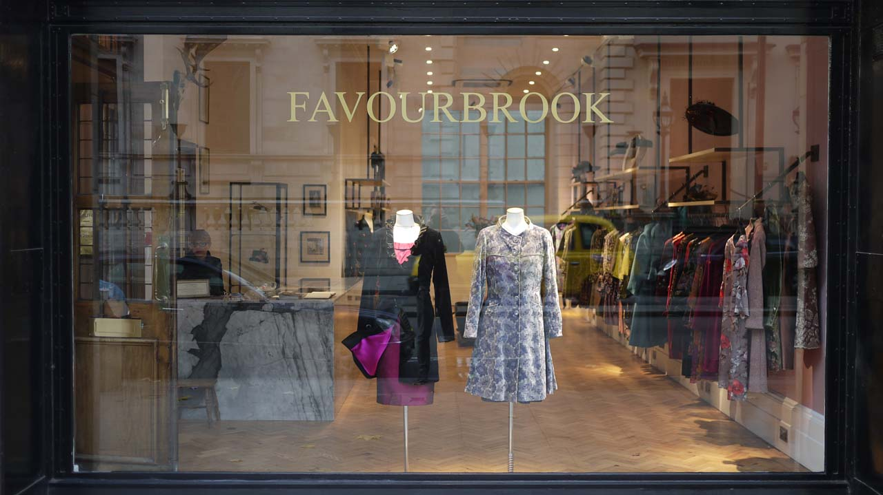 Favourbrook: Oliver Spencer Store at Pall Mall