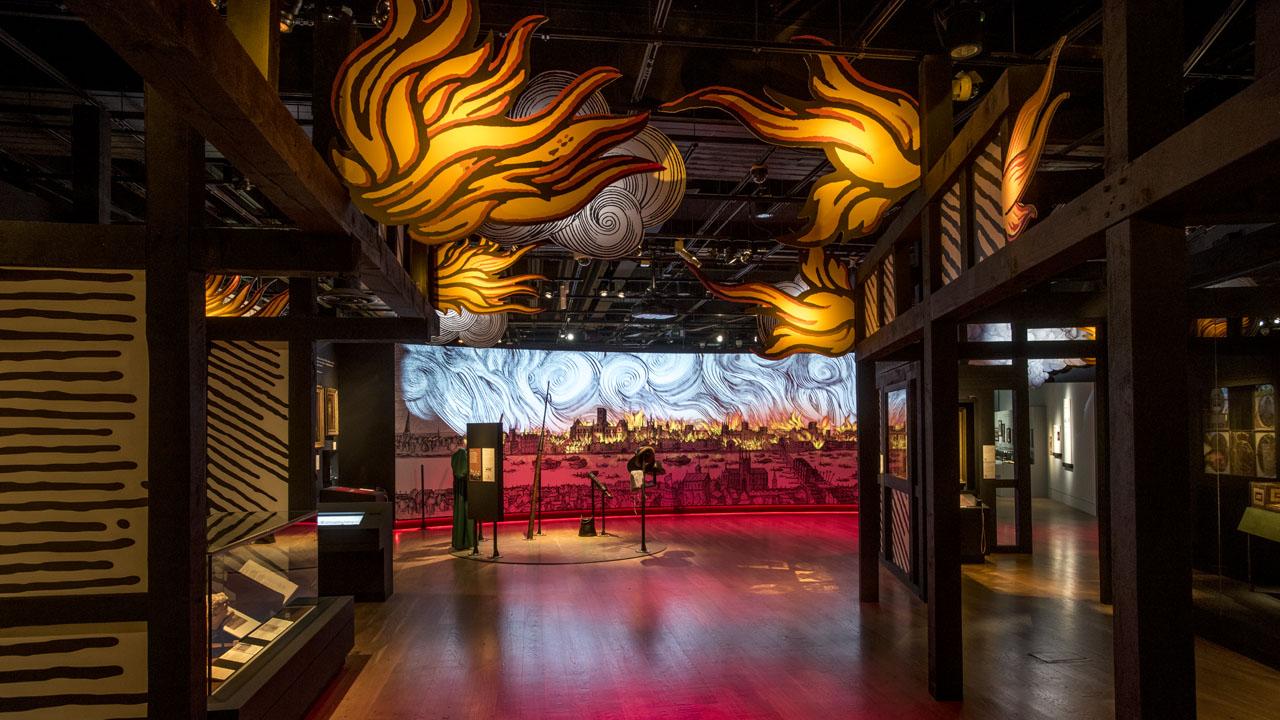 Museum of London: Fire! Fire!