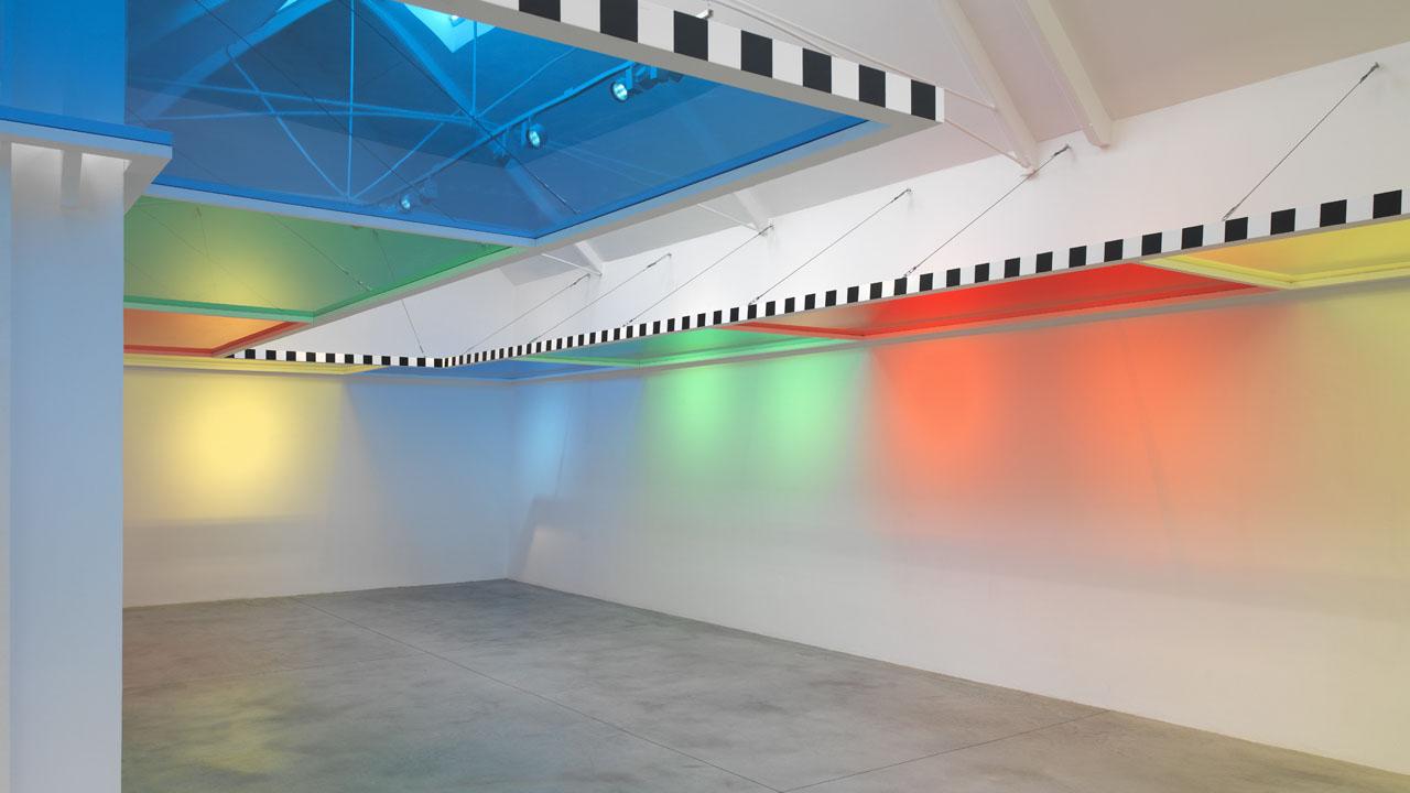 Lisson Gallery: Daniel Buren - A Perimeter for a Room