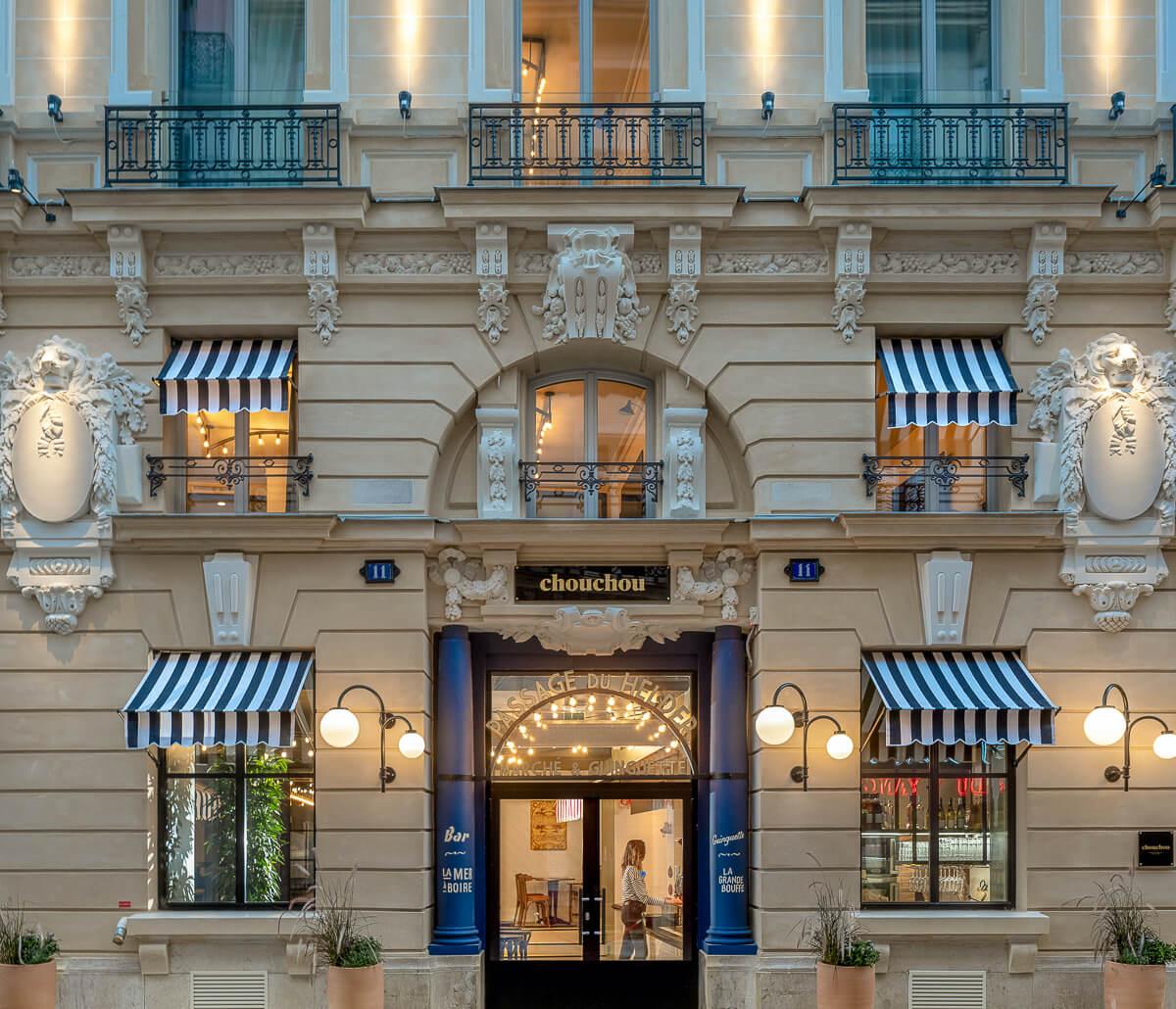 Nouveaux hôtels à Paris