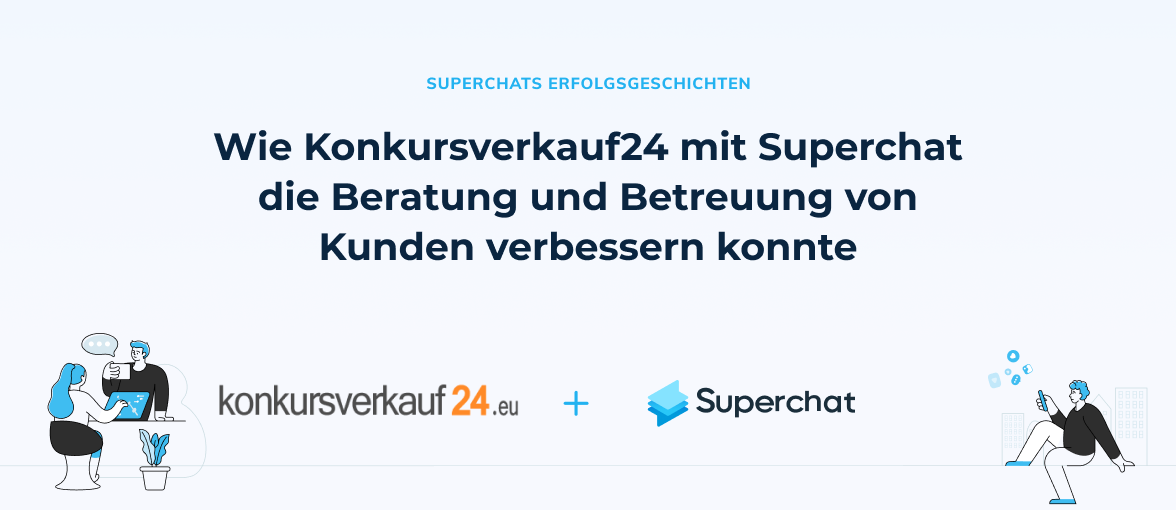 Superchat Erfolgsgeschichte: Konkursverkauf24.eu