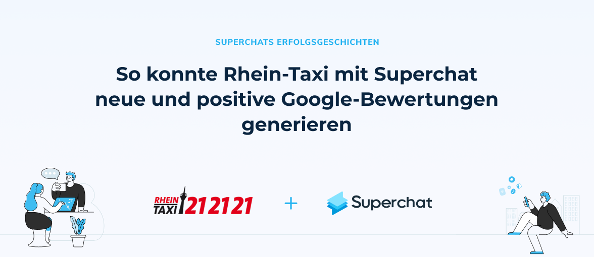 Superchat Erfolgsgeschichte - Rhein-Taxi