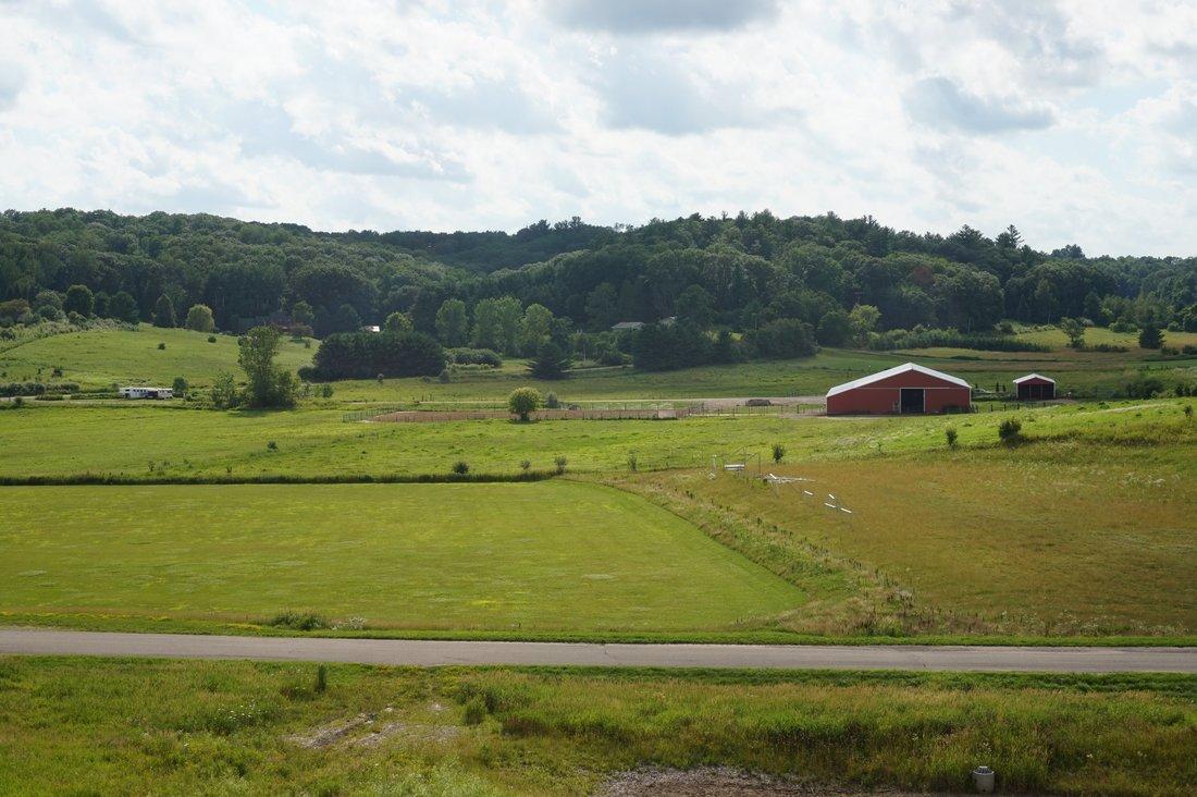 Scenic Field at Senior Home