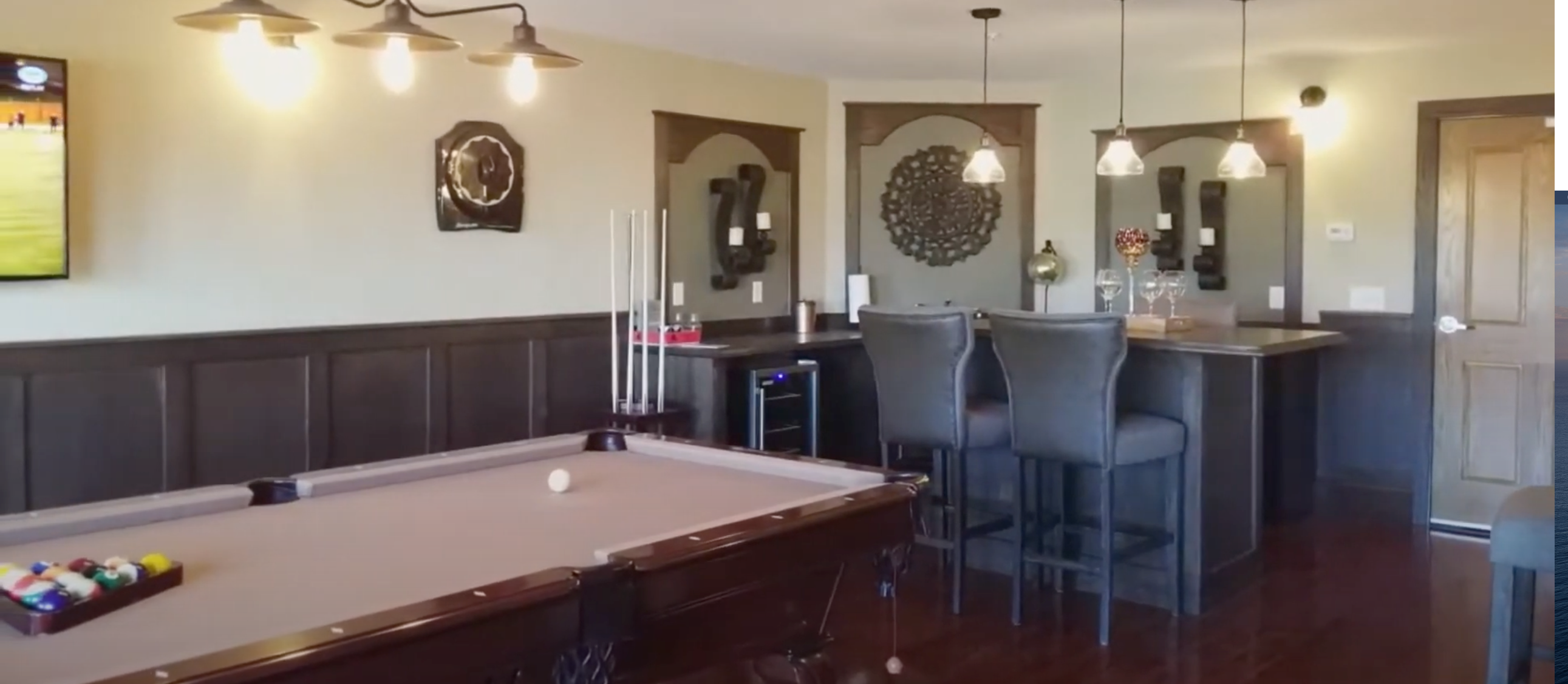 Senior Living Club Room