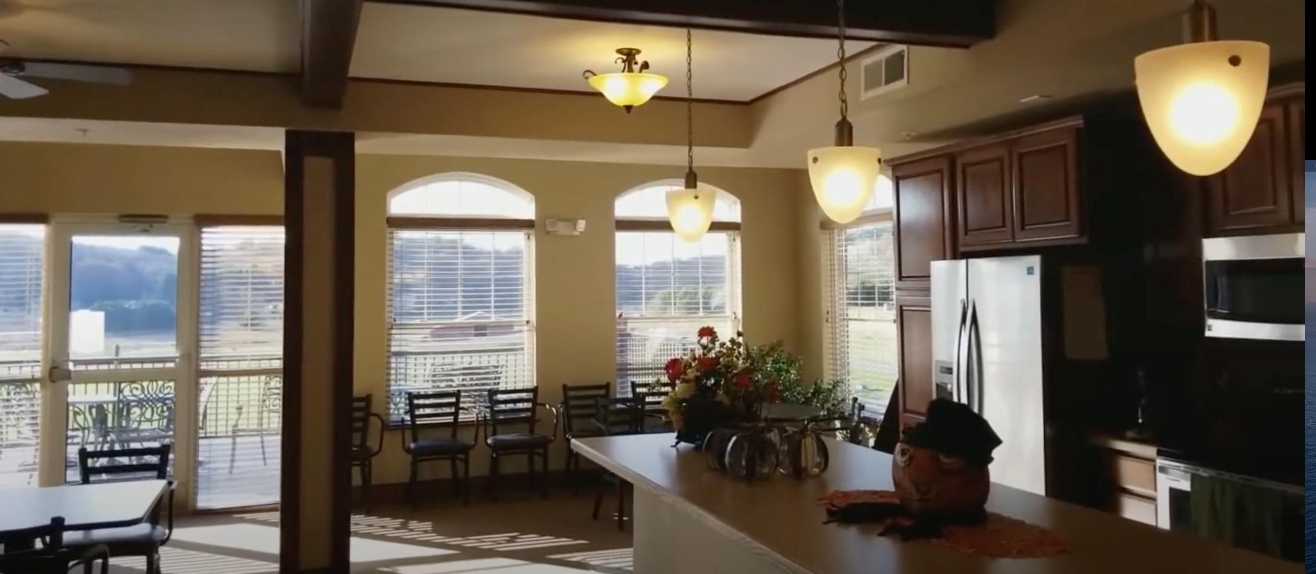 Senior Living Commons Room
