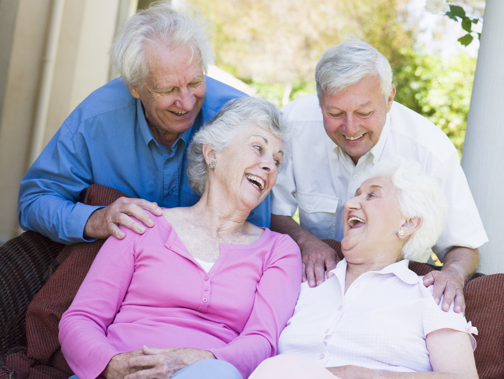 Senior Living being enjoyable shared experience