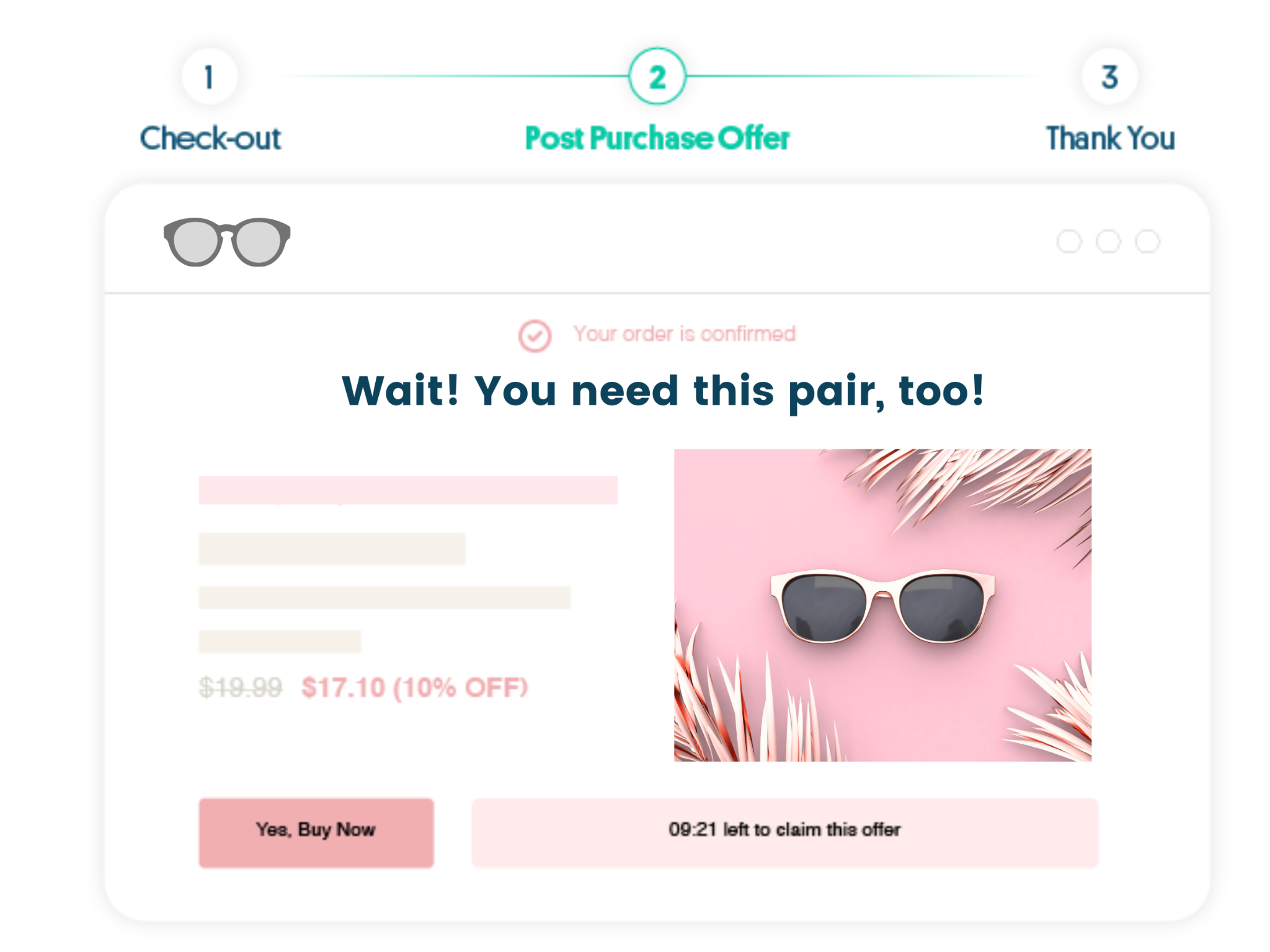 Customize upsells to match your brand