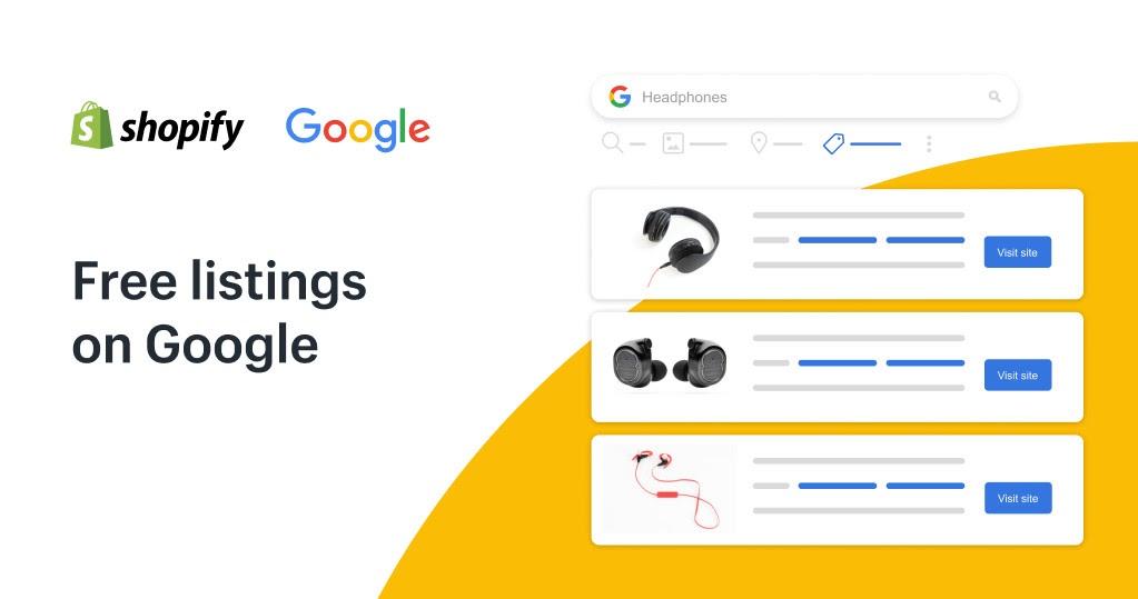 Google Shopping Free Listing