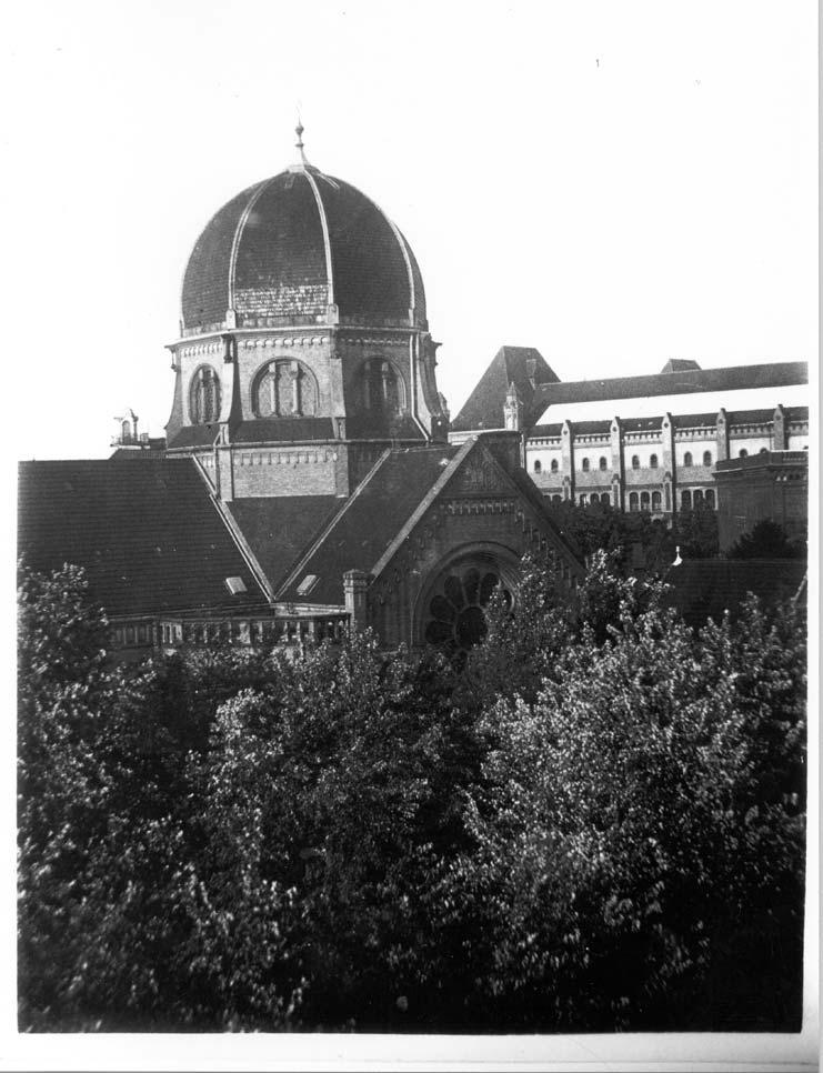 Bornplatzsynagoge, Kuppel © Unbekannt