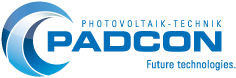 Padcon company logo.