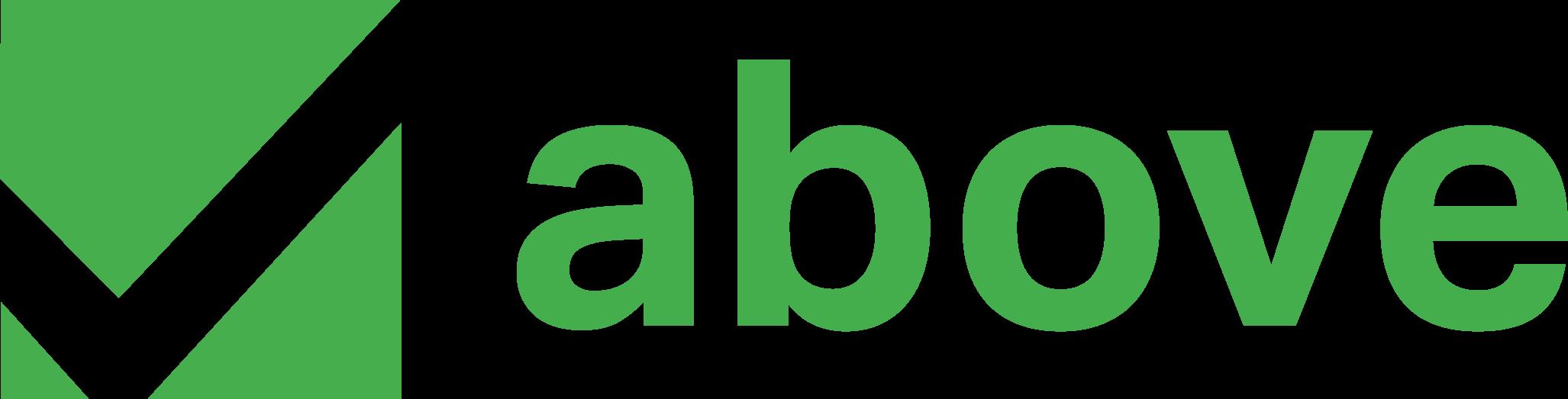 Above's company logo