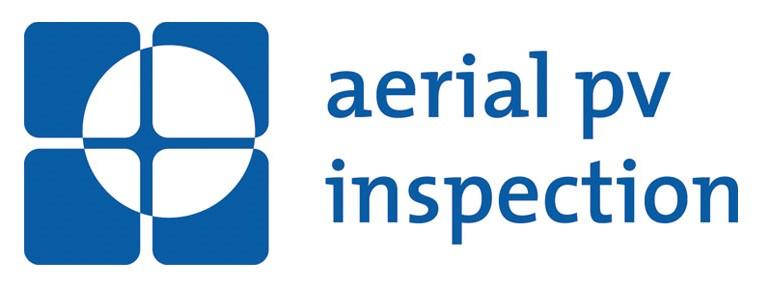 Aerial PV inspection company logo.
