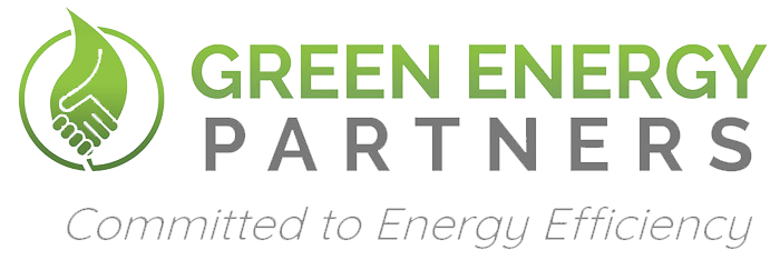 Green energy partners logo.
