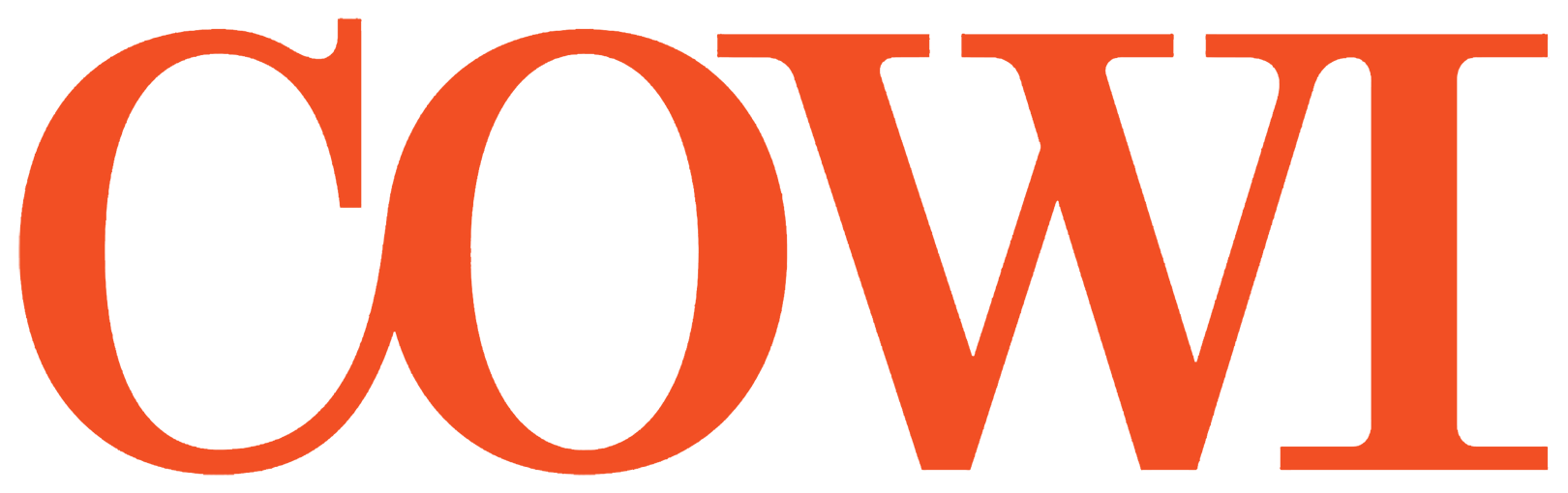 COWI logo.