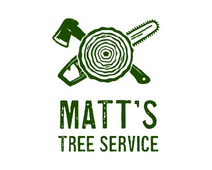 Matt's tree service logo