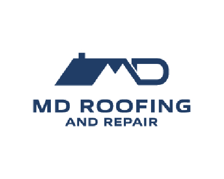 MD Roofing logo