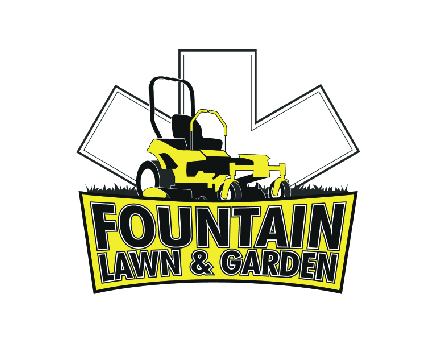fountain lawn and garden logo