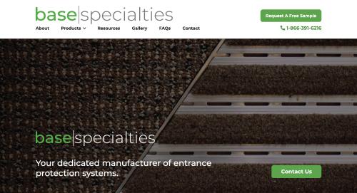 full speed plumbing website design
